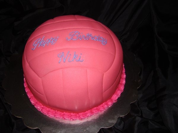 Absolutley LOVE this volleyball cake!!!
