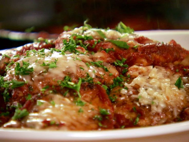 Pioneer Woman's Chicken Parmigiana -- The best Italian dish I've ever made, and good enough to be served in an Italian restaurant.
