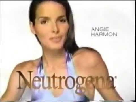 Neutrogena Visibly Firm Makeup Commercial with Angie Harmon - February 11, 2002 - YouTube