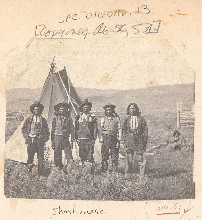 Old Photos - Shoshoni | www.American-Tribes.com