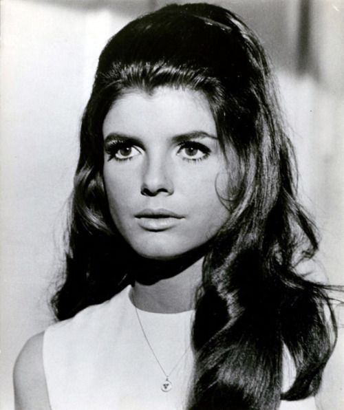 Katharine Ross in The Graduate, 1967. Directed by Mike Nichols.