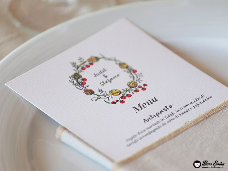 Wedding invitations made by me, if you are interested contact me: hello@erikabiro.com