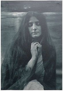 Céline Laguarde, Stella gomme bichromatée vers 1904.