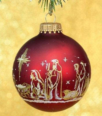 Religious Ornaments - Religious Christmas Decorations