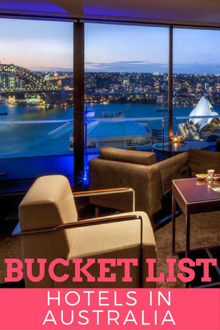 Luxury hotels in Australia   Bucket list hotels in Australia   Luxury Travel   Australia Hotels   Where to stay in Australia