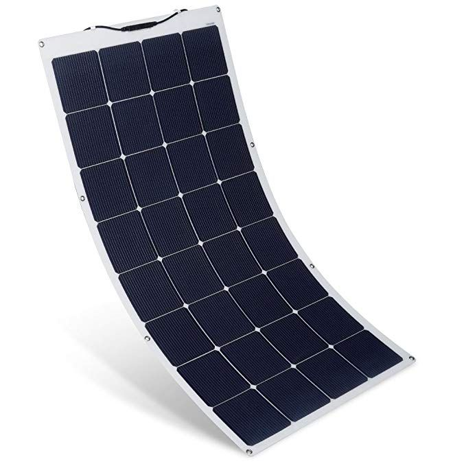 Suaoki 150w 18v 12v Solar Panel Charger Monocrystalline Flexible Cell With Mc4 Connector Charging For Rv Boat Solar Panel Charger Solar Panels 12v Solar Panel
