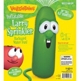Inflatable Larry Sprinkler for Backyard Water Fun!