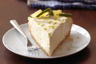 Margarita cheesecake pie!! Mmmm