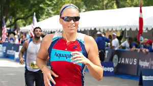 Jennie Finch Maybe Anything but Retired: The Olympic-distance Aquaphor NYC Triathlon Coverage