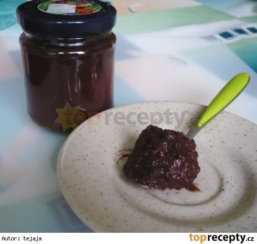 jablkova-nutela * (vic cokolady a kakaa, pridat trochu tuku)