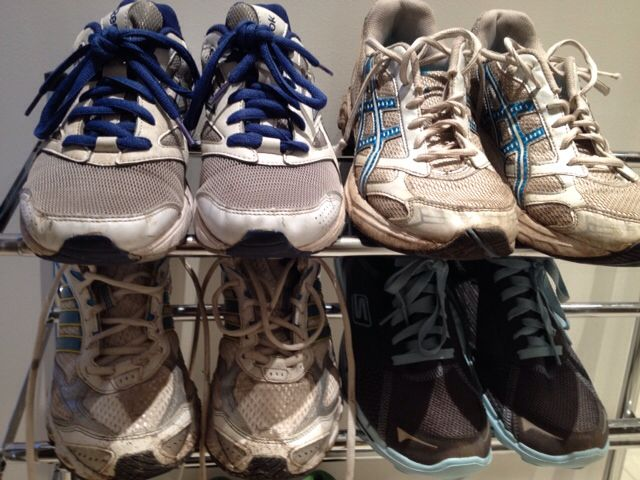 Trainers (not all mine)
