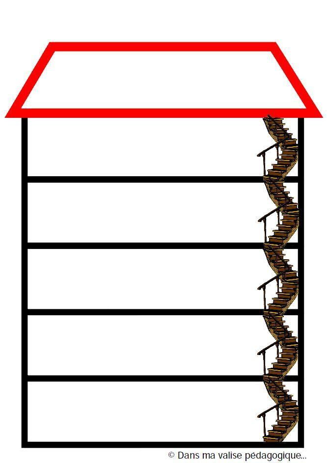 La maison des consignes Pour prendre l'habitude de découper une consigne en sous-étapes et pour que les élèves se demandent dans quel ordre ils doivent faire les choses, l'utiliser à chaque consigne, soit en écrivant 1-2-3 etc, soit en collant les vignettes consignes, soit les deux. GENIAL !!!