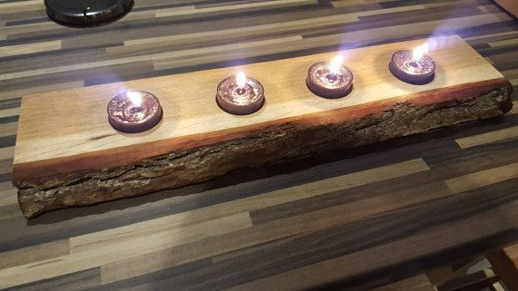 Check out this item in my Etsy shop https://www.etsy.com/uk/listing/495067888/handmade-oak-tealight-holder
