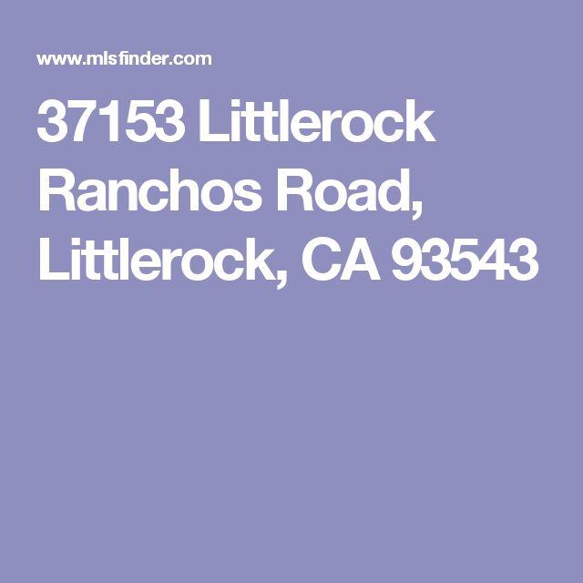 37153 Littlerock Ranchos Road, Littlerock, CA 93543