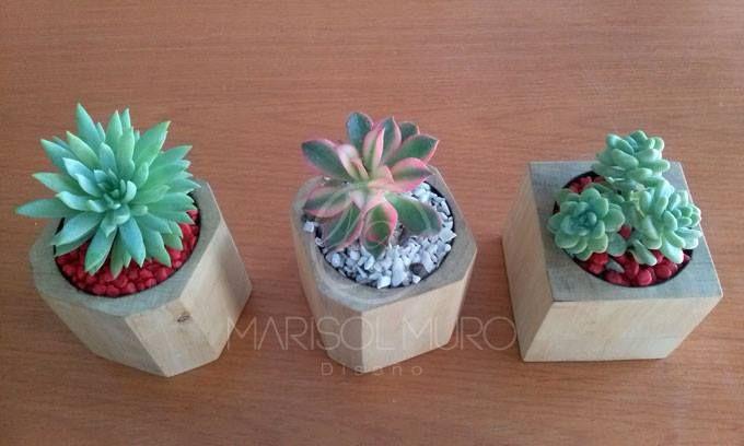 19 best images about macetas on pinterest more best - Macetas de madera ...