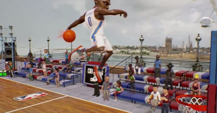 'NBA Jam' is totally the inspiration for this latest street basketball game