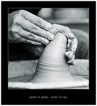 """""""hands of worker"""" by waitin' for rain   Redbubble"""