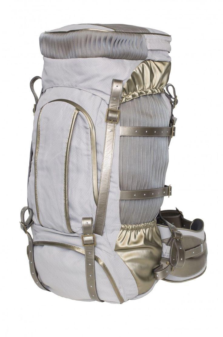 Backpack Veline Volante grey | Jannissima
