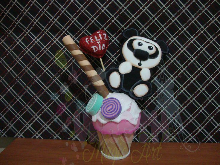 helado cupcake