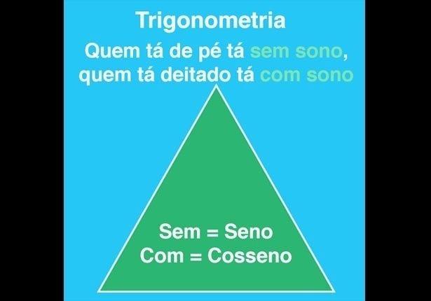 MATEMÁTICA (Trigonometria): #macete para não errar as posições na hora de calcular áreas do triângulo