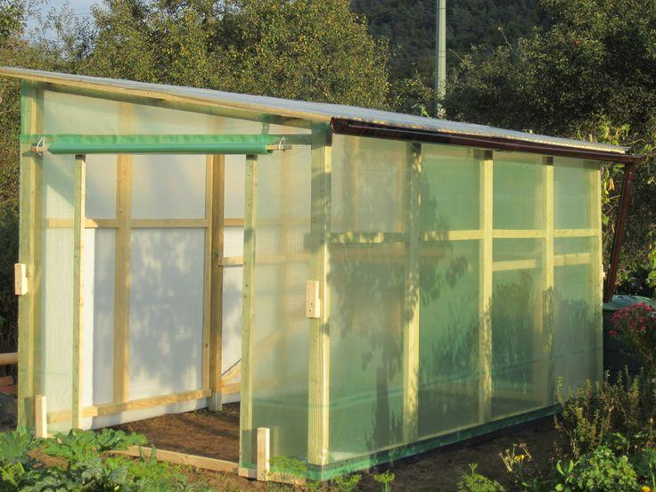 DIY-Anleitung, um ein Tomatenhaus selber zu bauen
