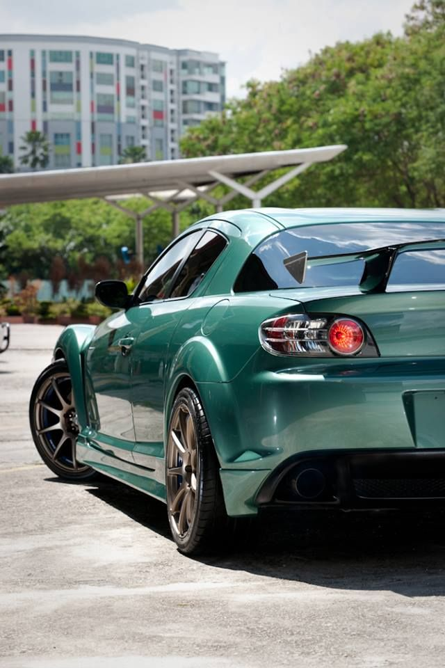 Mazda RX-8. I actually really dig this color too