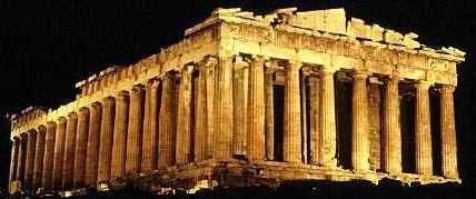 El Partenón de Atenas. Acrópolis de Atenas. Guía turística de Atenas.