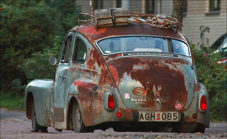 Volvo. In Rust We Trust.