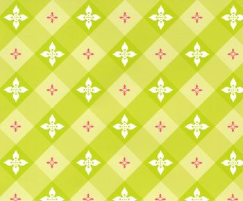 Patty Young Premium Quilt Fabric- Tea On The Terrace Citron