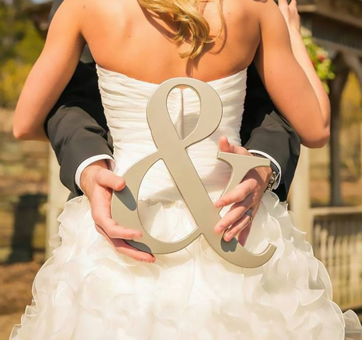 Our wooden ampersand sign props are a unique touch for your wedding! This ampersand photo prop is great for your wedding pictures, save the date cards, engagement photos, and many other fun uses! Carv