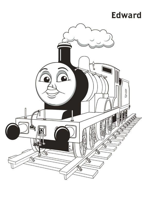 Disegni Di Trenino Thomas Da Colorare Treno Coloring Pages
