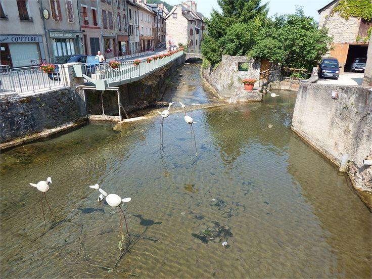 La #Canourgue, petite #Venise lozérienne