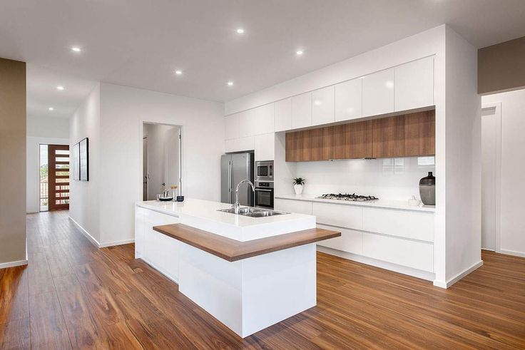 Cooking will be a joy in this stunning modern kitchen.#weeksbuildinggroup #newhome #homedesign
