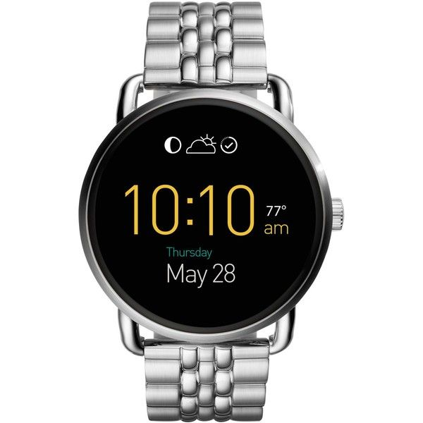 Fossil Women's Digital Q Wander G2 Stainless Steel Bracelet Smart Watch... ($295) ❤ ....can't wait for mine to come in  JF