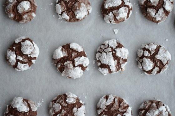 Chocolate Espresso Snowcaps | Noms | Pinterest