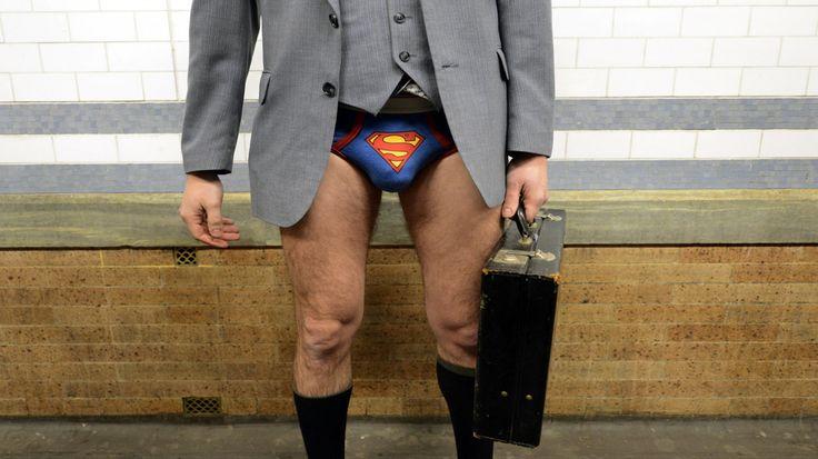 No Pants Subway NYC | Thousands Go Bare in Worldwide No Pants Subway Ride [PICS]