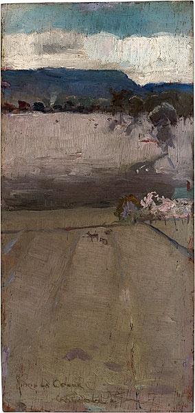journalofanobody: Riddell's Creek, 1889 by Charles Conder