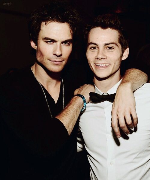 TOO MUCH. Dylan O'brien and Ian Somerhalder