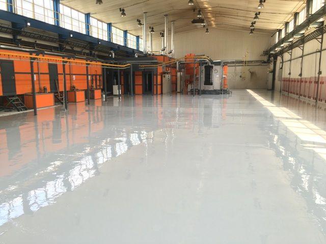 Liate podlahy sú vhodné napr. do výrobných hál v novostavbách na nový betón alebo v rekonštruovaných objektoch.