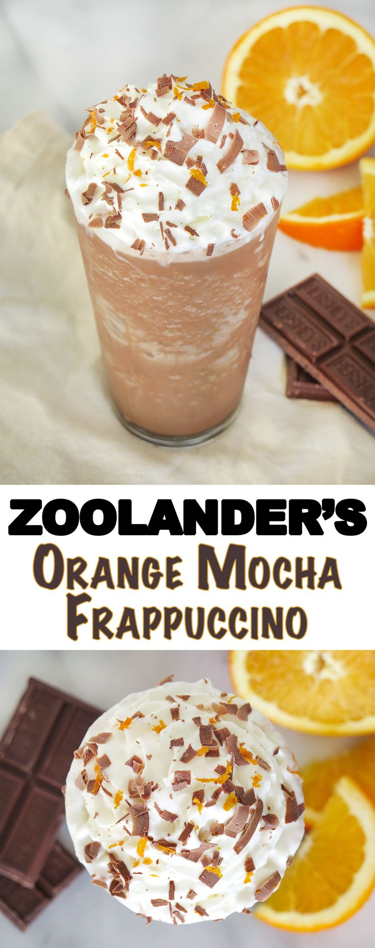 Fans of Zoolander will love this one especially, but the orange and chocolate flavor combo is universally appealing. #starbucks