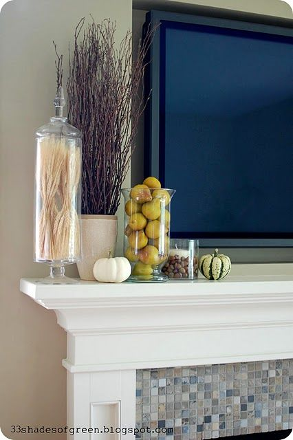 Need a tall skinny glass jar for mantle decor. Put wheat or small indian corn in it.