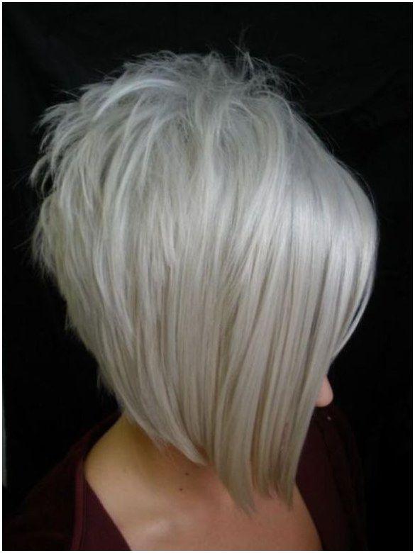 Inverted Bob Haircut With Grey Hair Bob Haircuts For Fine Hair Inverted Bob Shortfinehair Click Image Hair Styles Edgy Bob Hairstyles Angled Bob Hairstyles