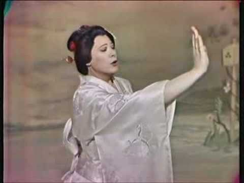 "Re: Renata Tebaldi ""Un bel di vedremo""  It was a Madame Butterfly weekend and Renatta's is marvelous"