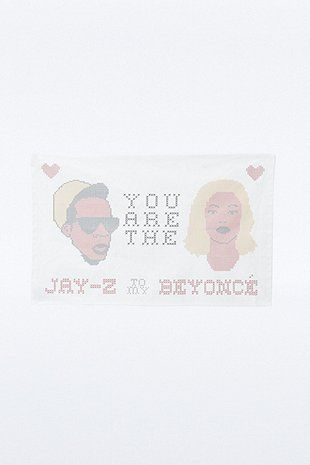 Jay Z To Beyonce Tea Towel