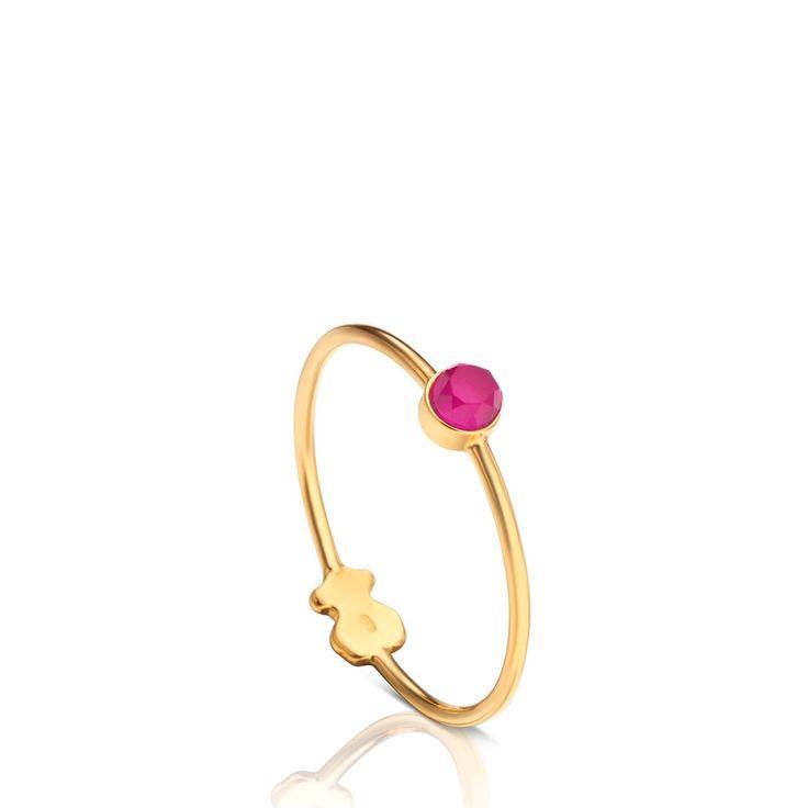 Anillo Mini Bright de Oro - Tous- 109e