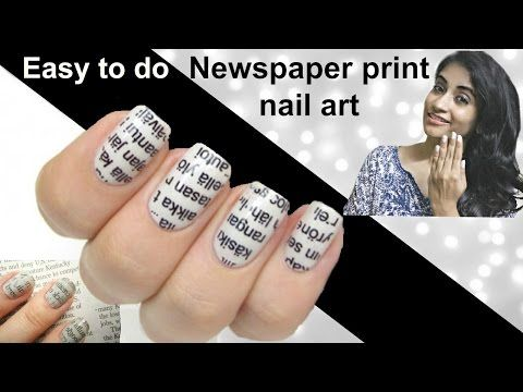 25 beautiful newspaper nail art ideas on pinterest diy nails 25 beautiful newspaper nail art ideas on pinterest diy nails with newspaper diy newspaper nails without alcohol and diy nails newspaper prinsesfo Images
