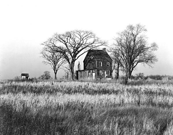 The world of old photography: Edward Weston: Near Neshanic, New Jersey, 1941