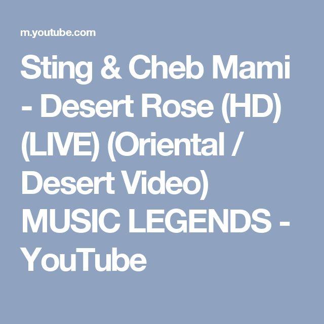 sting cheb mami desert rose  mp3