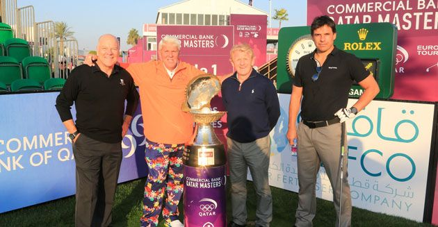 John Daly and football stars win Commercial Bank Qatar Masters Pro-Am #qatar #golf
