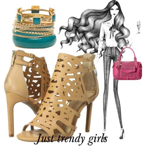 straps sandals , High heels sandals for woman http://www.justtrendygirls.com/high-heels-sandals-for-woman/